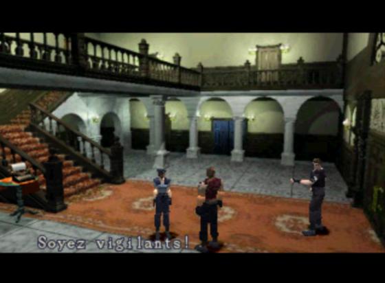 Shinji Mikami lui-même trouvait le coup de feu trop forcé, mais à défaut d'autres idées, ça fait le taffe.