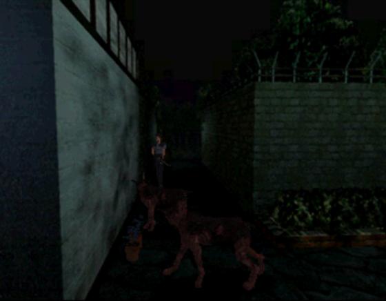 Finalement, en restant calme et en marchant, les chiens zombies vous laissent relativement tranquille.