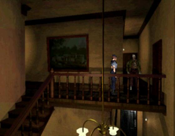 La première fois que vous tombez sur ce couloir, ça ne manque pas, la tension monte. La seule solution de repli risque vite d'être bouchée par un zombie.