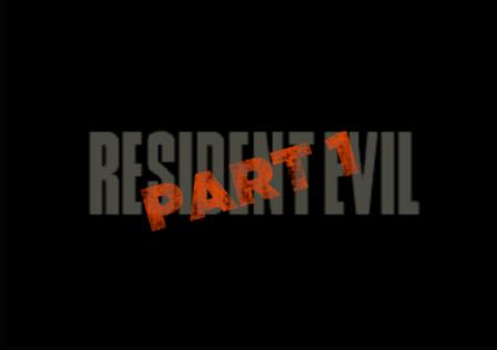 resident evil part 1 designer l'horreur