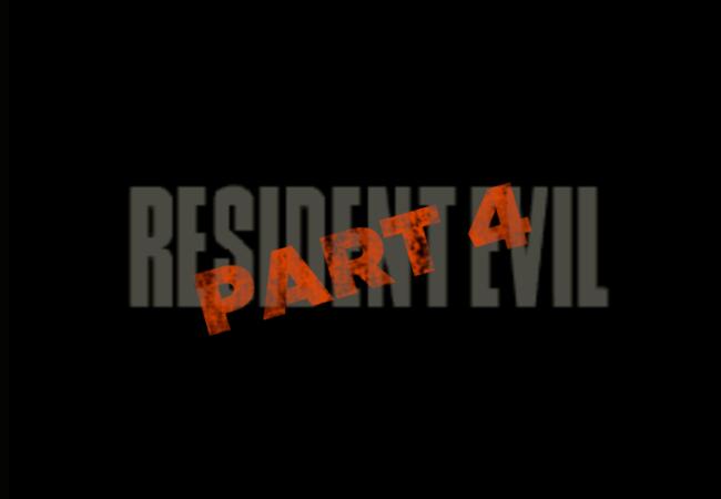 resident evil part 4
