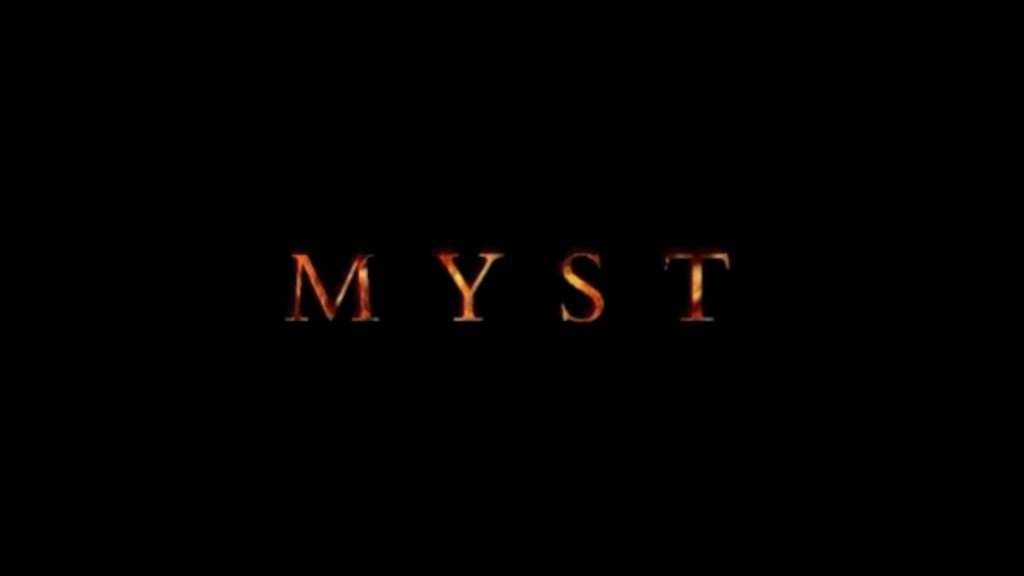 MYST Title screen
