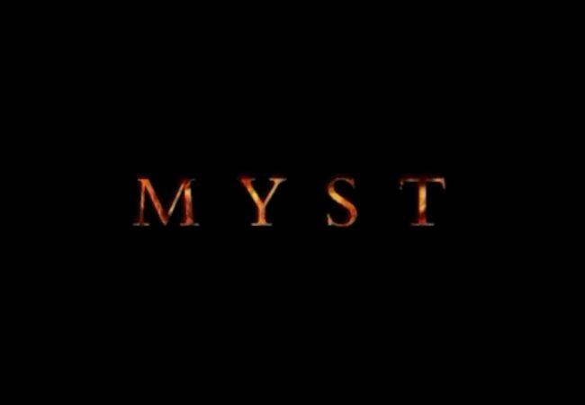MYST Title screen